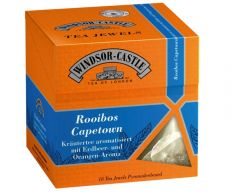 Windsor-Castle: Rooibos Tee Capetown 18 Pyramiden-Beutel