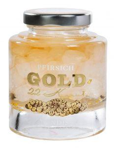 Gold-Pfirsich Kandis  -ohne Alkohol-