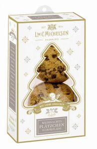 Mini Weihnachts- Schoko-Cookies mit Vanille