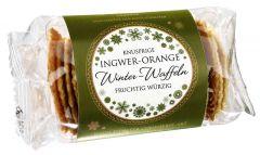 Winterwaffeln Ingwer und Orange