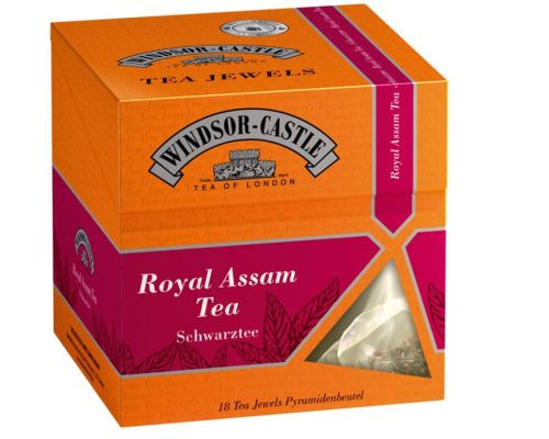 Windsor-Castle: Royal Assam Tea 18 Pyramiden-Beutel