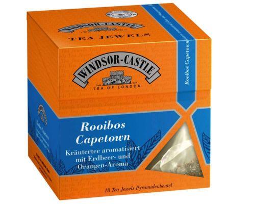 Windsor-Castle: Rooibos Tee Capetown 18 Pyramiden-Beutel