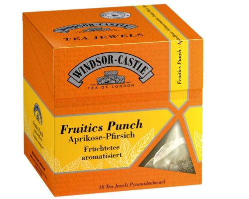 Windsor-Castle: Fruitics Punch 18 Pyramiden-Beutel