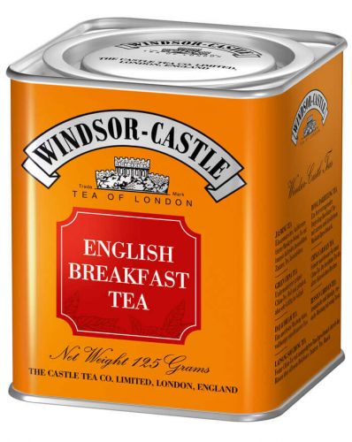 Windsor-Castle: English Breakfast Tea 125g Dose
