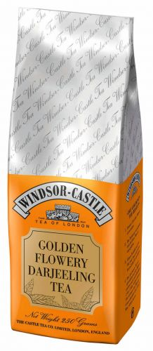Windsor-Castle: Golden Flowery Darj.Tea 250g Tüte