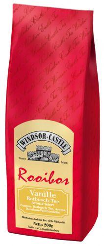 Windsor-Castle: Rooibos Tee Vanille 200g Tüte