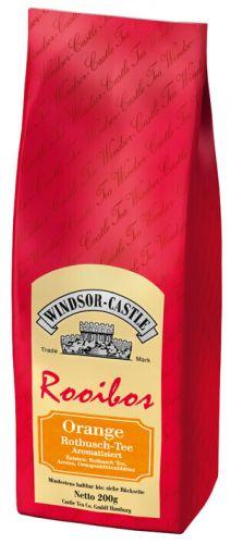 Windsor-Castle: Rooibos Tee Orange 200g Tüte