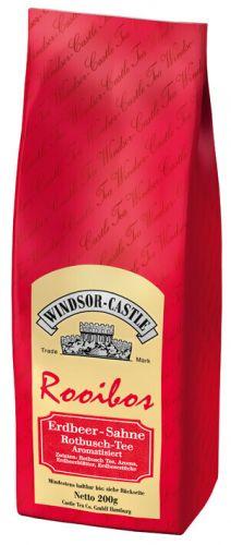 Windsor-Castle: Rooibos Erdbeer/Sahne 200g Tüte