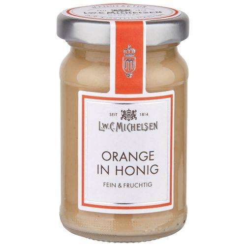 Orange in Honig