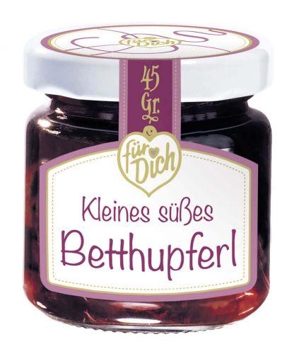 Kleines süßes Betthupferl
