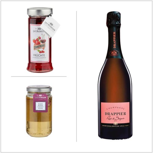 Champagner Frühstück - Geschenkbox