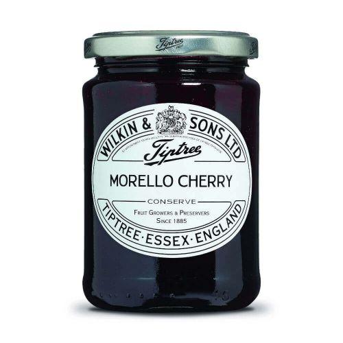 W&S Morello Cherry Conserve 340g Glas
