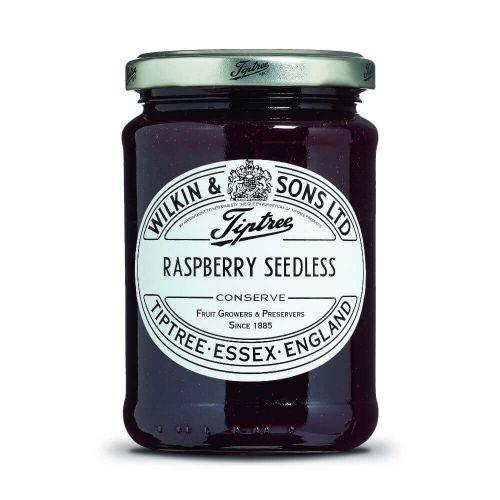 W&S Raspberry Seedless Conserve 340g Glas