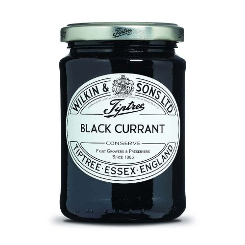 W&S Black Currant Conserve 340g Glas