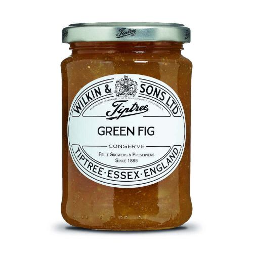 W&S Green Fig Conserve 340g Glas