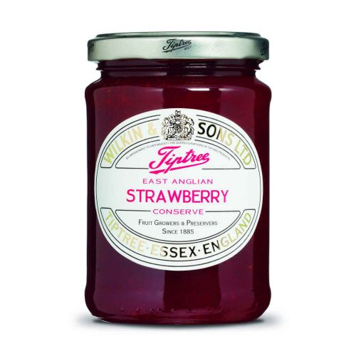 W&S Konfi. East Anglian Strawberry Conserve 340g Glas