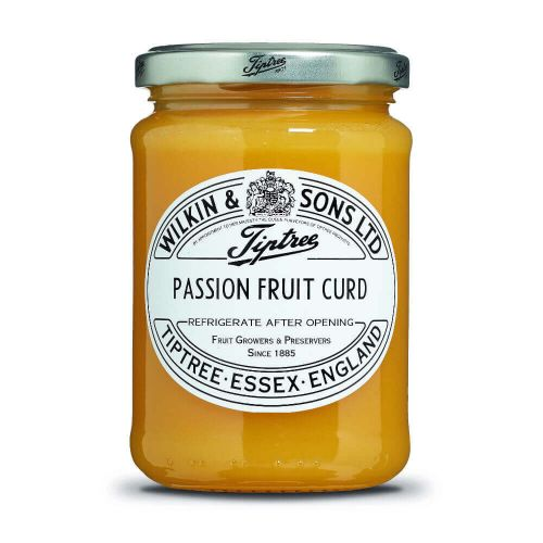 W&S Curd Passion Fruit 312g Glas