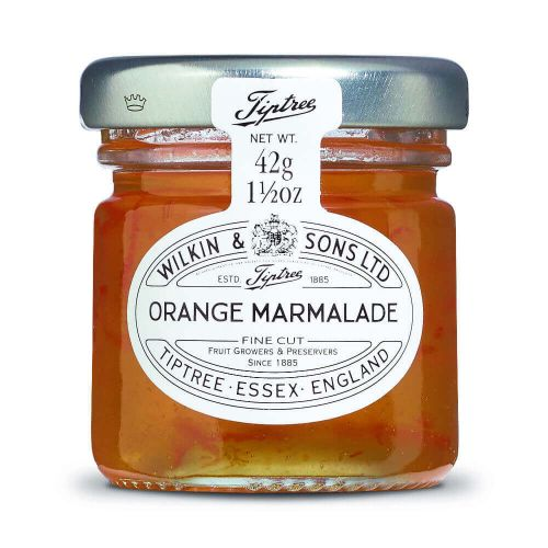 W&S Tiptree Orange Marmalade 42g Glas