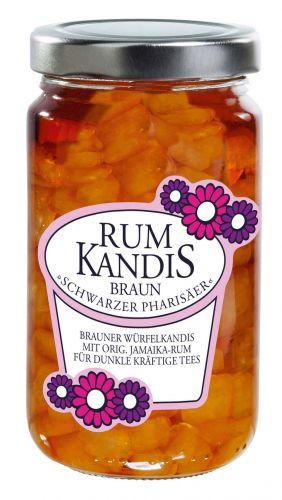 Rum-Kandis Blüte -Braun-
