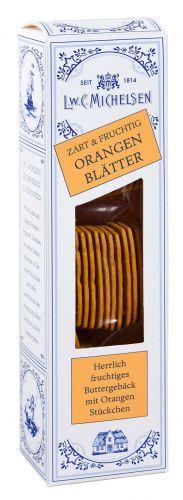 Orangen-Butter-Blätter
