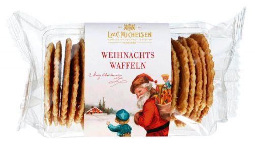 Weihnachts Zuckerbäcker-Waffeln