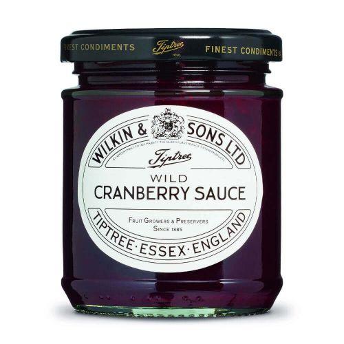 W&S Sauce Wild Cranberry 210g Glas