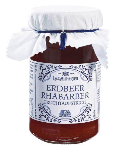 Landhaus Rhabarber-Erdbeer Konfitüre