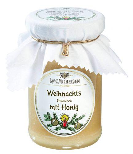 Gold-Weiß Weihnachts-Honig
