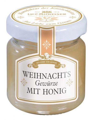 Weihnachtsgewürze mit Honig -Mini-