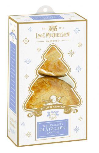 Mini Weihnachtsplätzchen Vanille