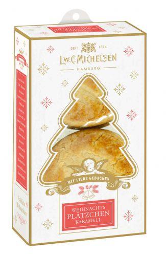 Mini Weihnachts-Plätzchen Karamell