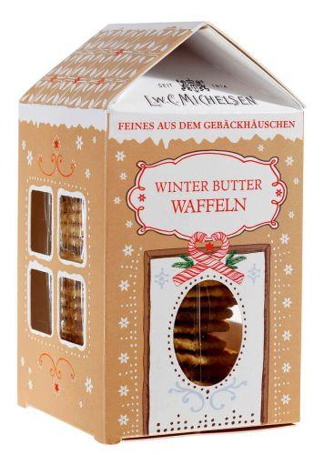 Gebäckhäuschen Winter-Butter-Waffeln
