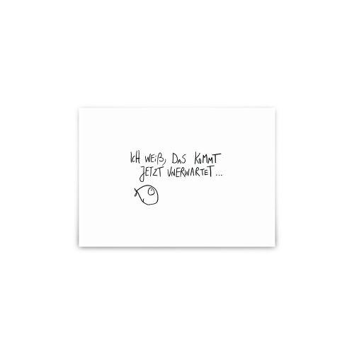 Postkarte - Unerwartet