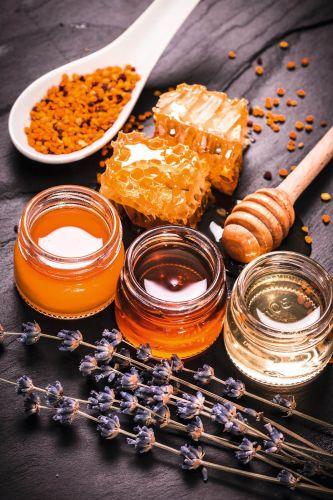 Zum Tee: Zitronen & Honig -Mini-