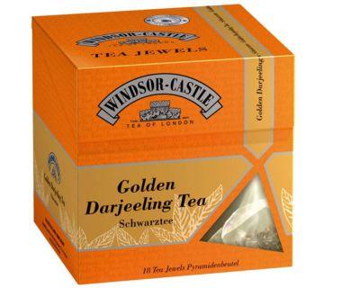 Windsor-Castle: Golden Darjeeling Tea 18 Pyramiden-Beutel