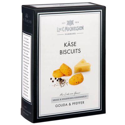 Käse-Biscuits mit Pfeffer