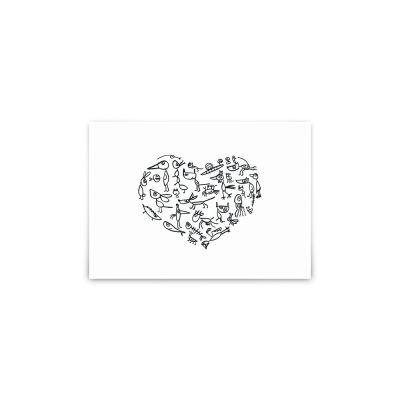 Postkarte - My funny  Valentine