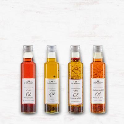 Kräuteröle & Gewürzöle: Hochwertige Küchen-Allrounder