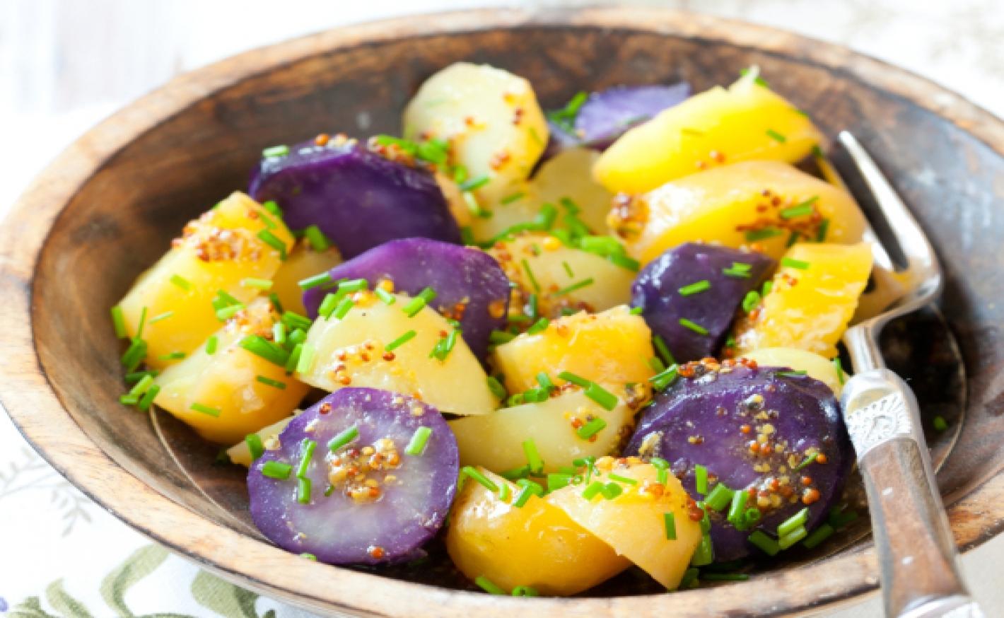 Roastbeef mit französischem Kartoffelsalat