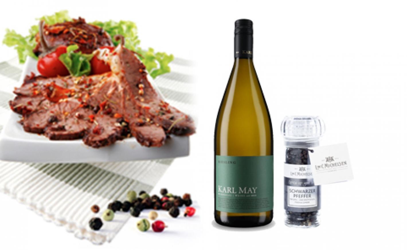Koriander-Wein Marinade für Grillfleisch