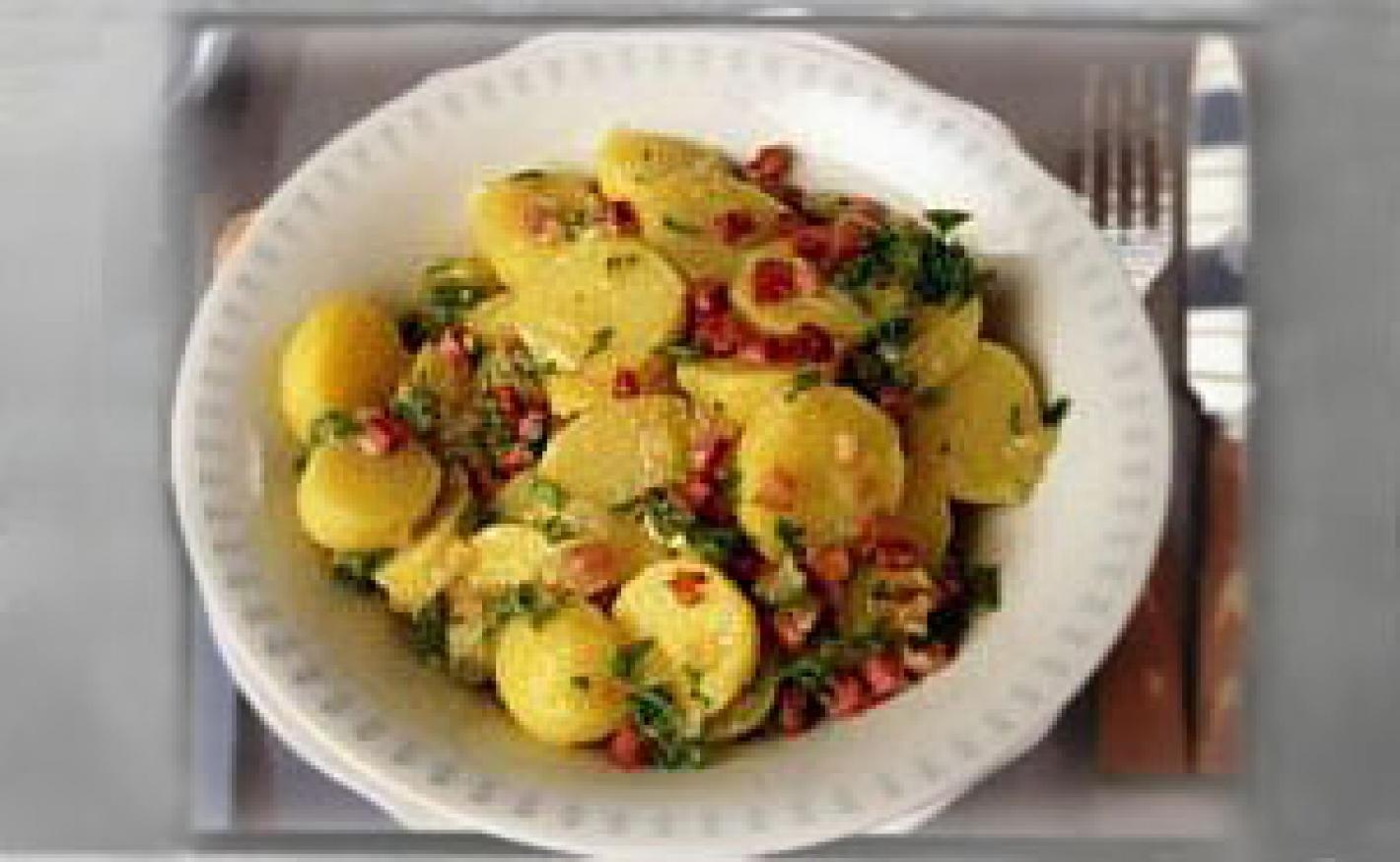 Kartoffelsalat zum BBQ