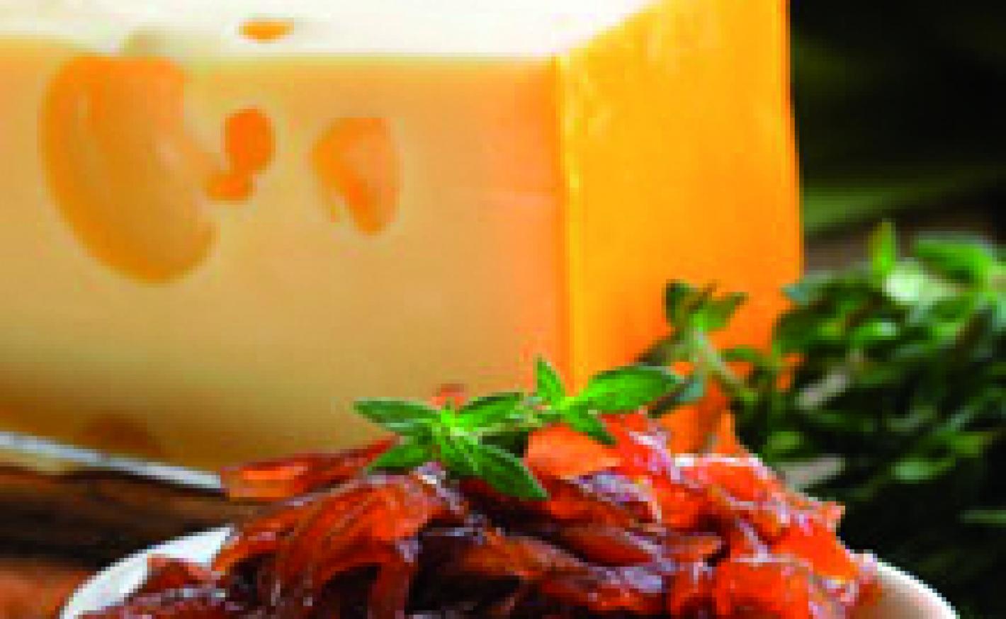 Tomaten-Garnelen-Raclette