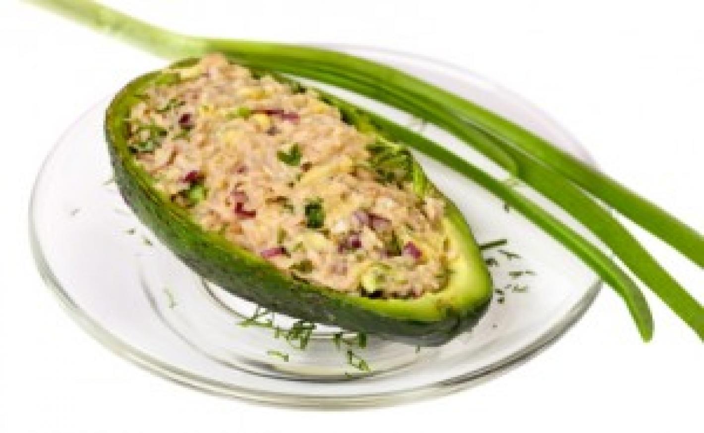 Avocado mit Sardellen