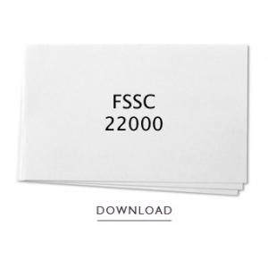 ISO22000 Zertifikat