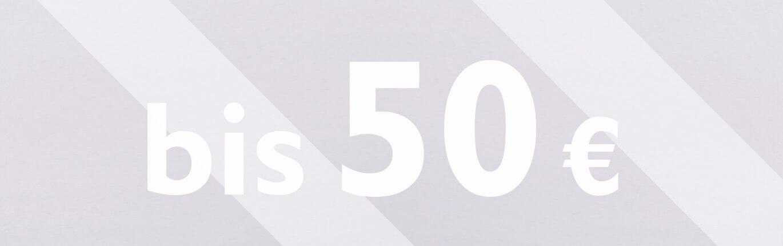 Preiskategorie - bis 50